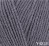 Пряжа LANA LUX 74815 (Серый графит)