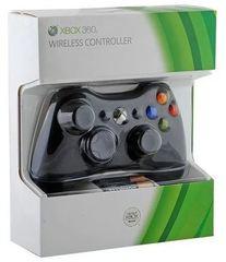 Беспроводной контроллер (Xbox 360, черный)
