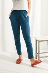 Сині штани-джоггери з бавовни