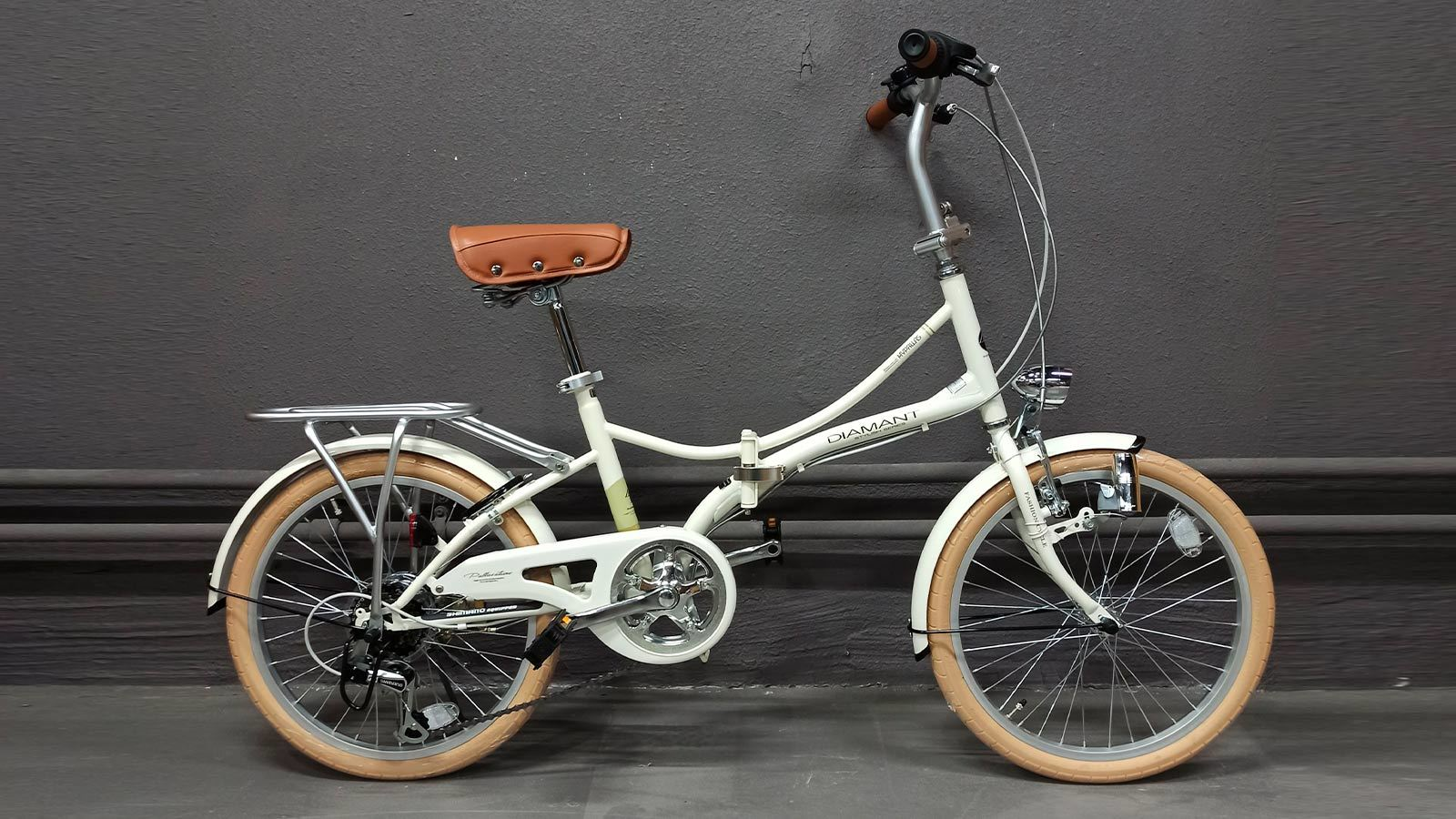 Складной велосипед MyPallas M260 слоновая кость