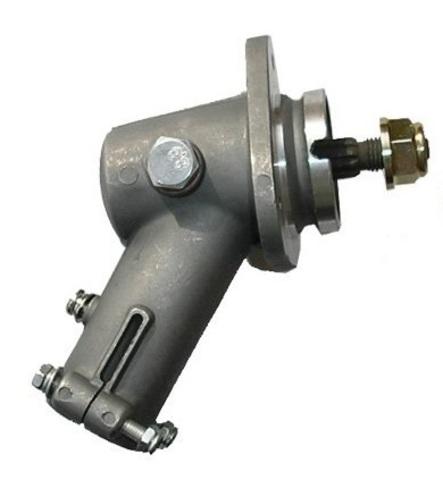 Редуктор нижний на электро - бензотриммер квадрат (25,4мм)