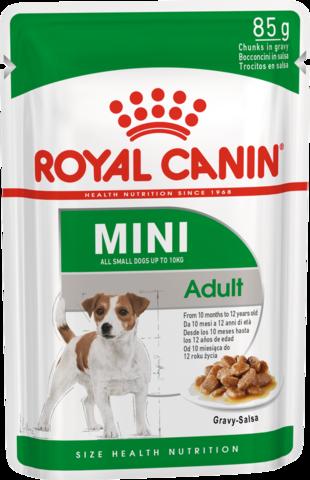 Royal Canin MINI ADULT для взрослых собак мелких пород