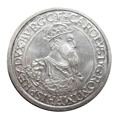 5 экю. 30 лет Римскому договору. Бельгия. Серебро. 1987 г. AU