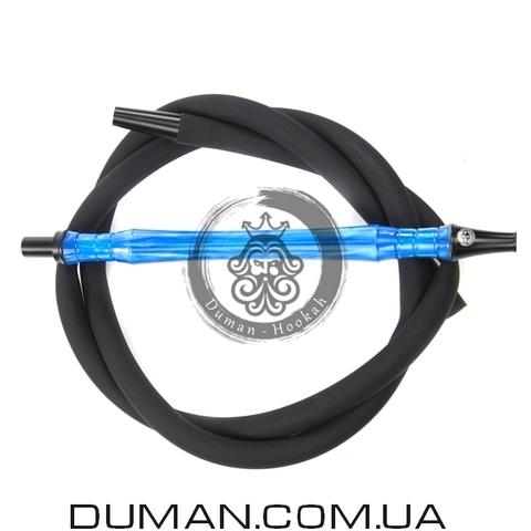 Комплект силиконовый шланг Soft-Touch и мундштук Yahya Smoth Set для кальяна |Blue