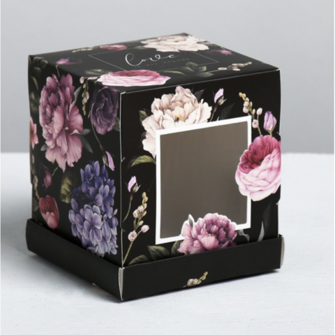 Коробка Love, 9*10*9 см