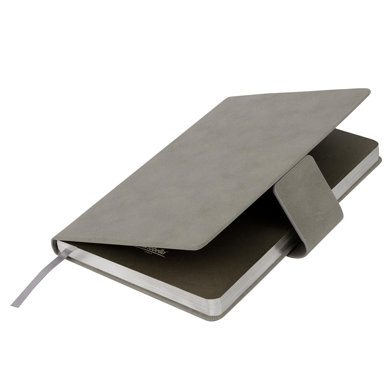 Ежедневник Portobello Trend, Ritz, недатированный, бежевый, твердая обложка, срез-фольга/серебряный