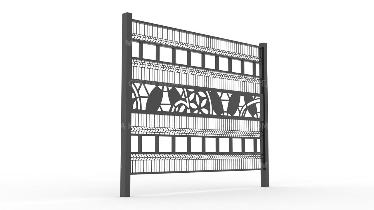 Забор 3Д ZBR0081