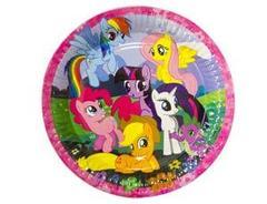 Тарелка My Little Pony 23см 8шт/A