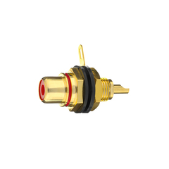 Inakustik Premium RCA-Panel Jack, red, 1 pc