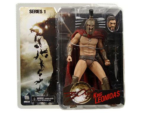300 King Leonidas & Queen Gorgo Action Figures