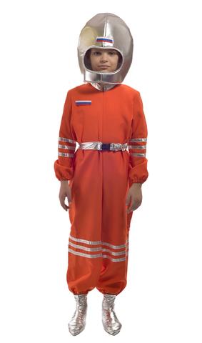 Костюм Космонавт оранжевый 1