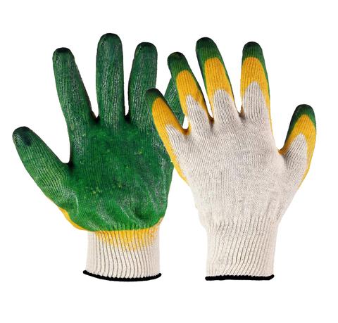 Перчатки с двойным латексным покрытием и полушерстяным вкладышем