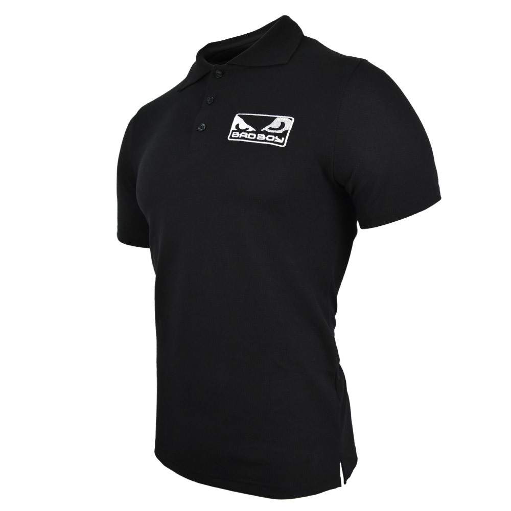 Футболки - Поло Футболка - Поло Bad Boy T-shirt - Black 1.jpg
