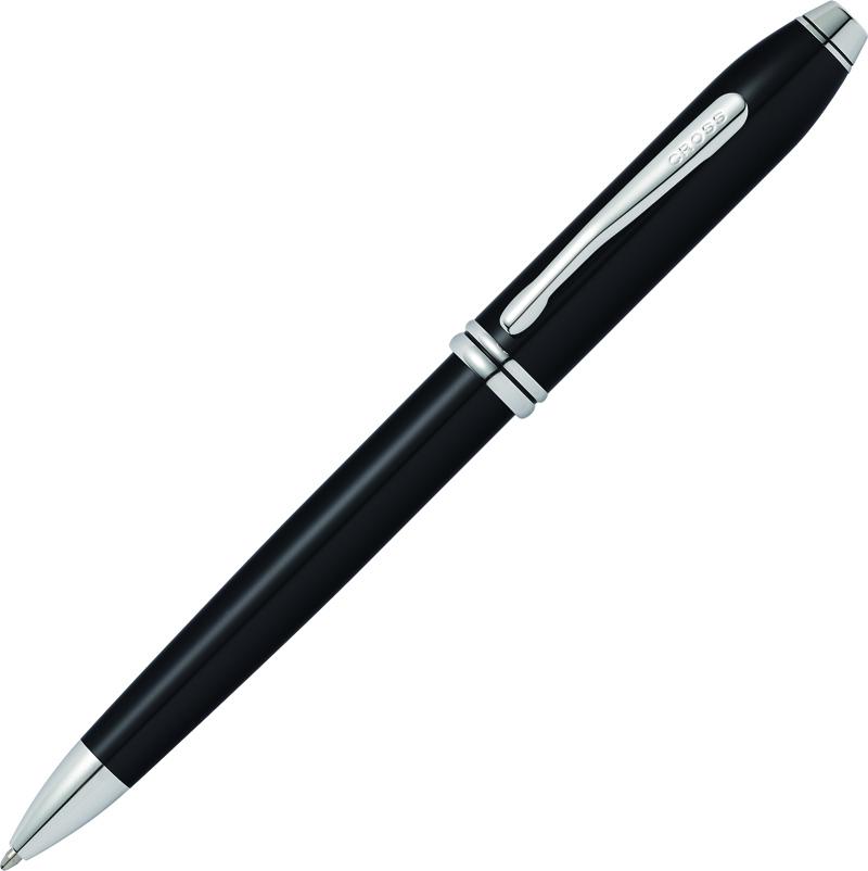 Cross Townsend - Black RT, шариковая ручка, M