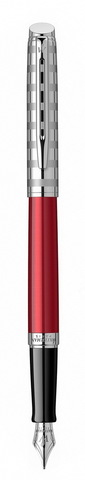 Ручка перьевая Waterman Hemisphere French riviera Deluxe RED CLUB в подарочной коробке123