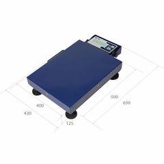 Весы товарные мобильные MAS ProMAS PM1B-150 M 4050, RS232 (опция), 150кг, 20/50гр, 500*400, нержавеющая сталь, мобильные, с поверкой