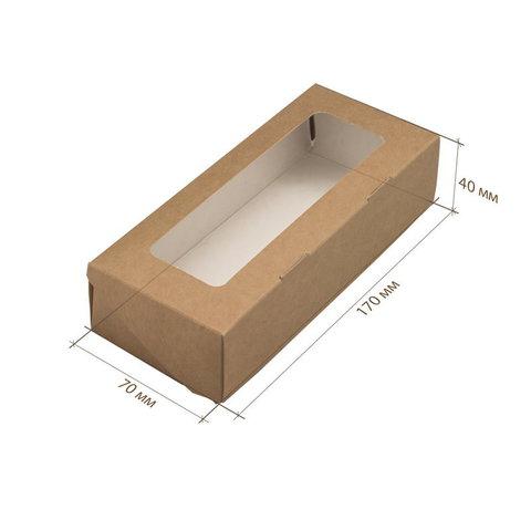 Коробка крафт 170х70х40