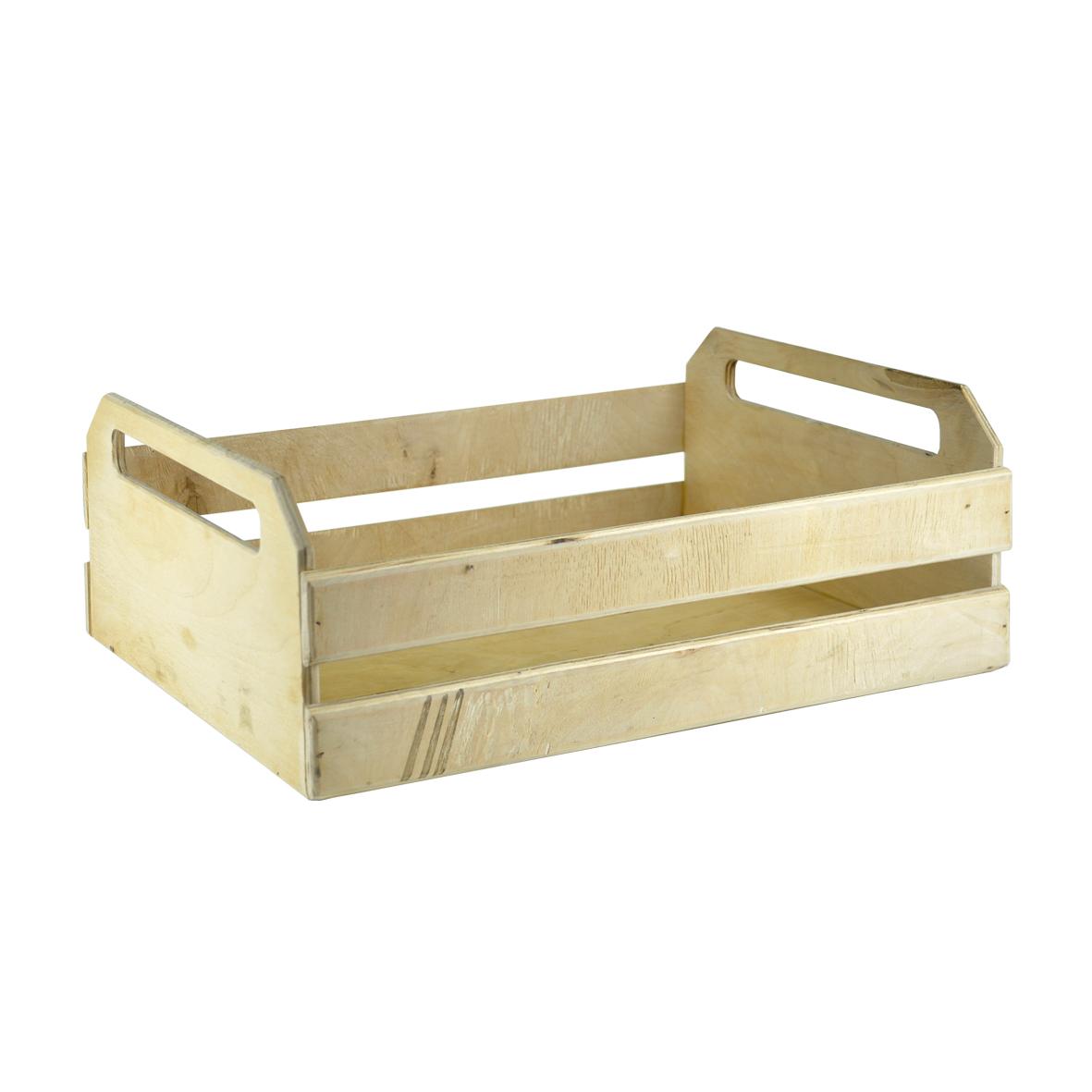 деревянная коробка с ручками