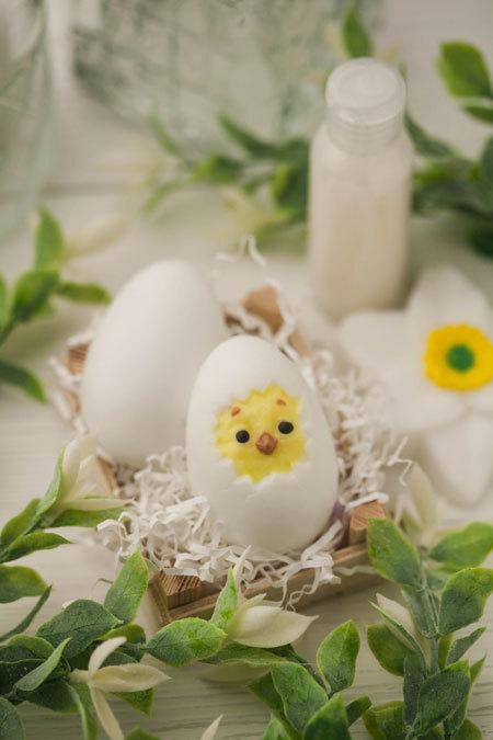 Мыло Яйцо/Цыпленок. Форма пластиковая