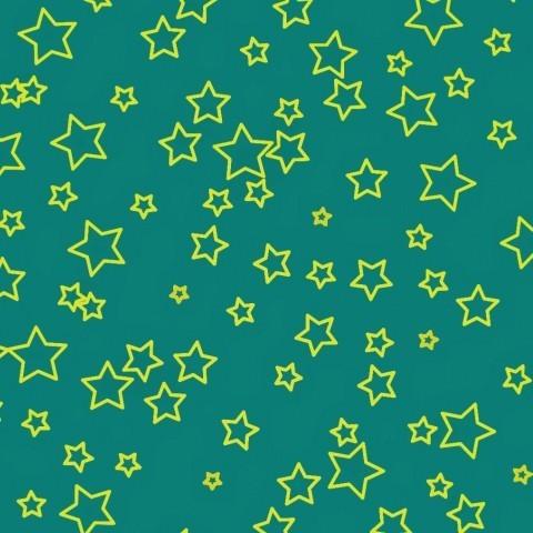 Звезды на бирюзовом