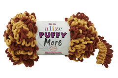 Пряжа Alize Puffy More цвет 6276