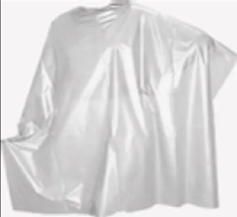 Пеньюар 100*160 см, прозрачный, в рулоне. 50 шт. (Цвет: прозрачный, черный, оранжевый)