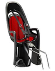 Детское велокресло Hamax Zenith серый/красный