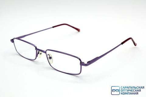 Очки готовые для зрения лектор в широком металлическом футляре LIRO MIO M85000 C9 (