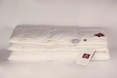 Одеяло пуховое кассетное теплое 200x220 «Grand Down Grass»