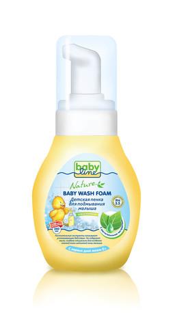 Детская пенка для подмывания малыша Babyline Nature