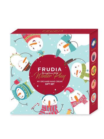 Подарочный набор кремов для рук Зимняя коллекция Winter Play My Orchard Hand Cream Gift Set FRUDIA