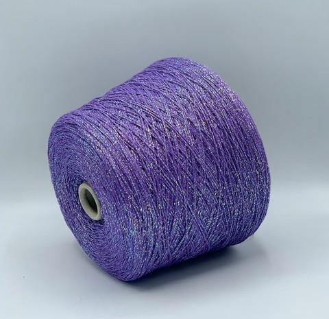 G&G Filati (пр.Италия), art. Glamour Lux, 350м/100гр, 68%Вискоза 14%Полиамид 18%Полиакрил, цвет- Светло-фиолетовый, арт.10086
