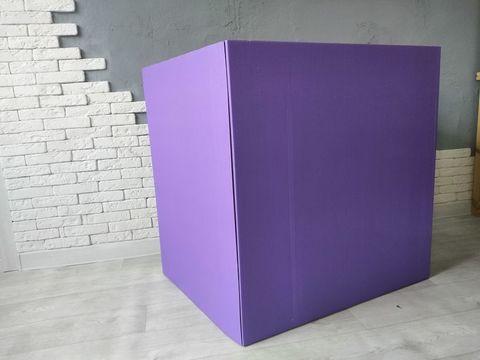 Коробка фиолетовая