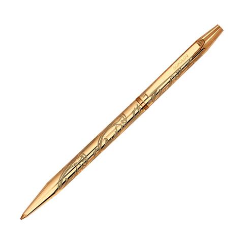 93250006 - Ручка из золоченого серебра 925 пробы с гравировкой