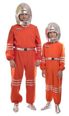 Костюм Космонавт оранжевый 2