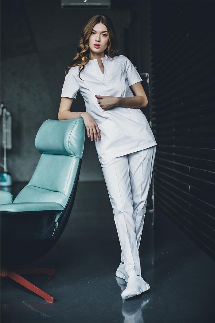 Блуза женская медицинская М 281