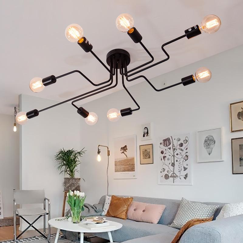Потолочный светильник Spider by Light Room (4 плафона)