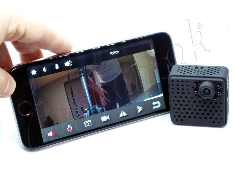 Ambertek MD100S Wi-Fi IP мини камера