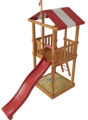 Детская деревянная игровая площадка Бремен