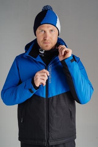 Утеплённая лыжная куртка Nordski Montana Blue/Black мужская