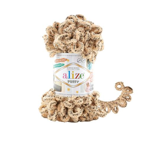 Купить Пряжа Alize Puffy Код цвета 715 Гепард | Интернет-магазин пряжи «Пряха»