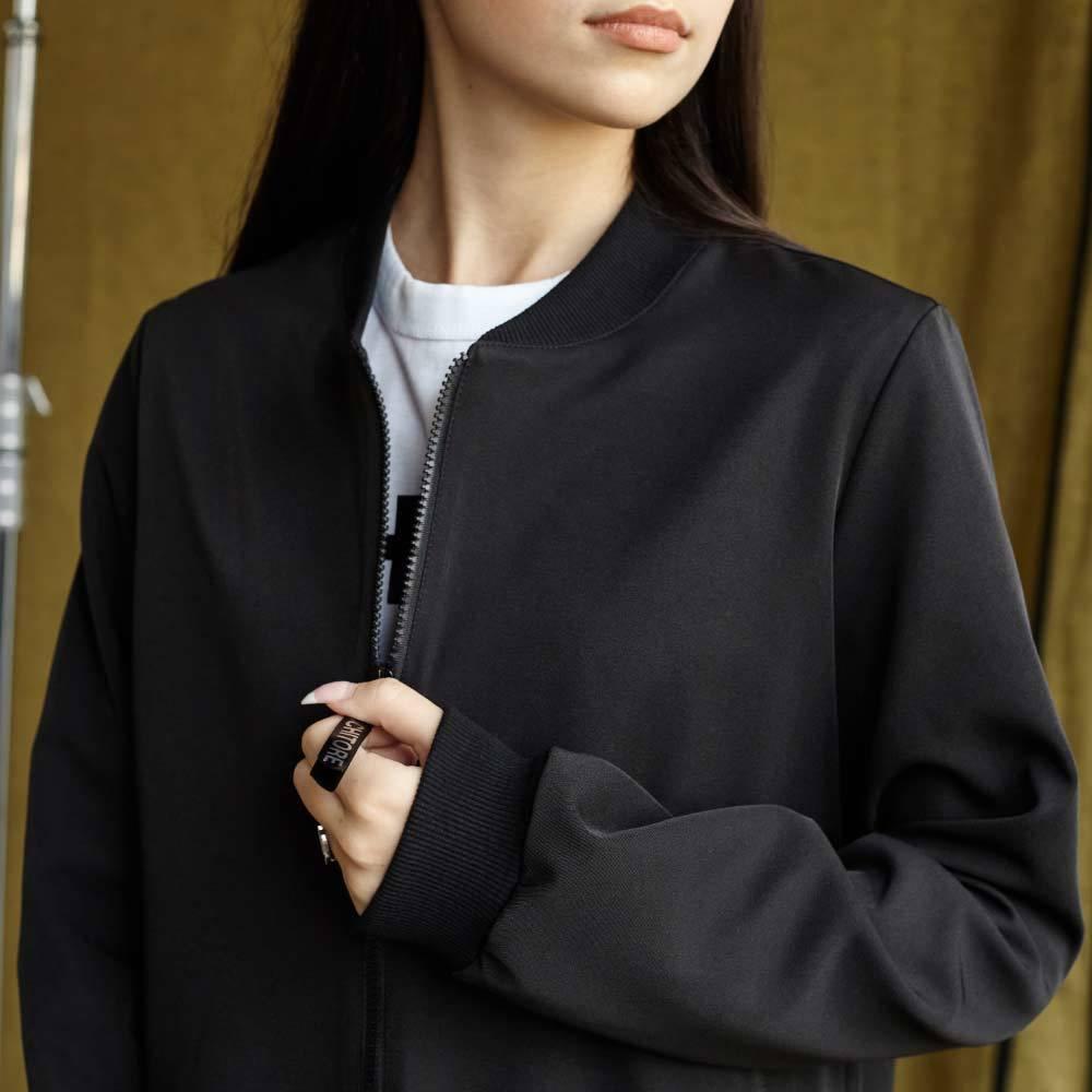 Подростковый школьный костюм для девочек в черном цвете