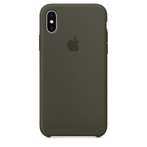 Чехол для iPhone X - силиконовый