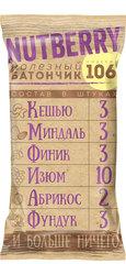 NUTBERRY Орехово-фруктовый батончик с кешью 35г