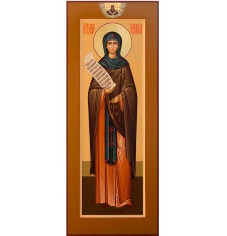 Икона святая Мелания на дереве на левкасе мастерская Иконный Дом
