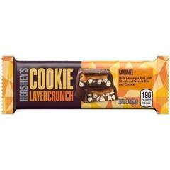 Шоколад Hershey's Layer Crunch Caramel с кусочками печенья и карамелью 39 гр