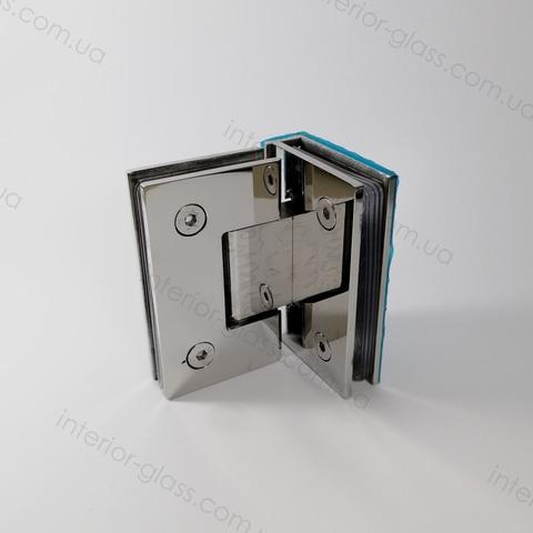 Петля душевая 90 градусов HDL-304 BF PSS нержавеющая сталь