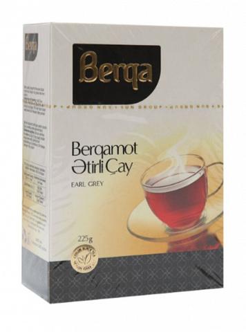 Çay \ Чай \ Tea Berqa Earl Grey qara çay 225 q