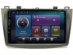 Магнитола для Mazda 3/Axela (09-13) Android 10 4/64 IPS DSP 4G модель CB-2101TS10