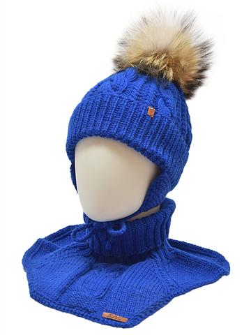 Комплект: шапка, манишка